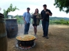 Rustic Paella with Amista Winery