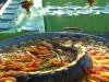 Salmon Paella on the Lake