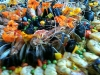 Lobster Paella with edible flowers