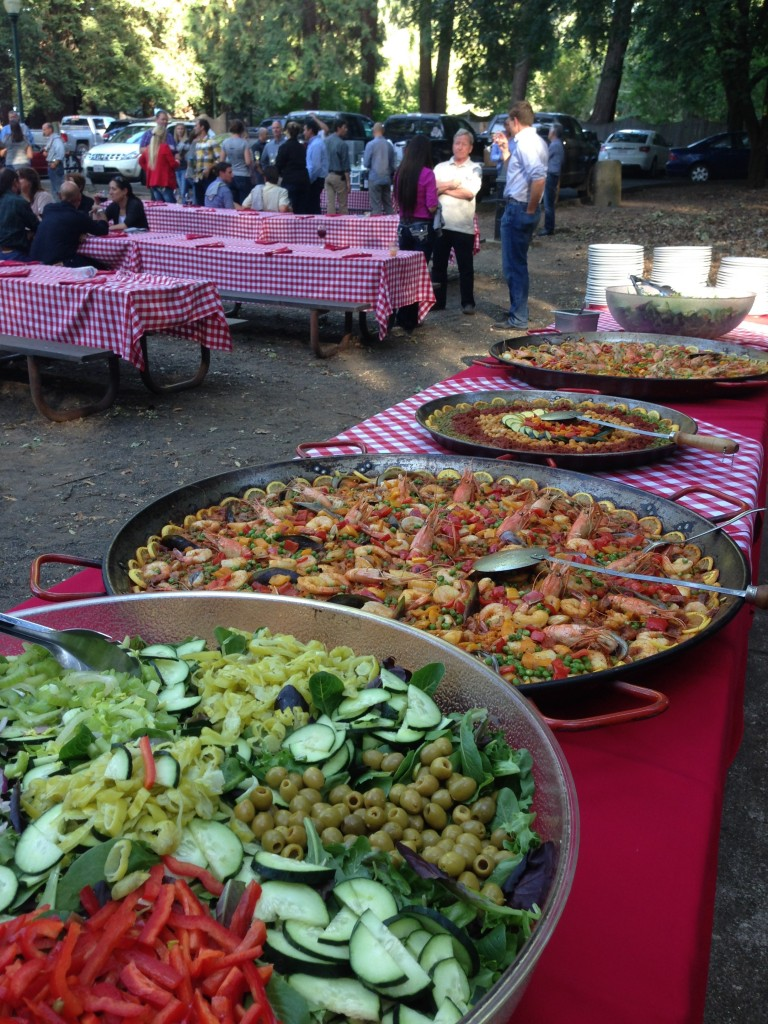 A trio of paella for E&J Gallo Innovation Day